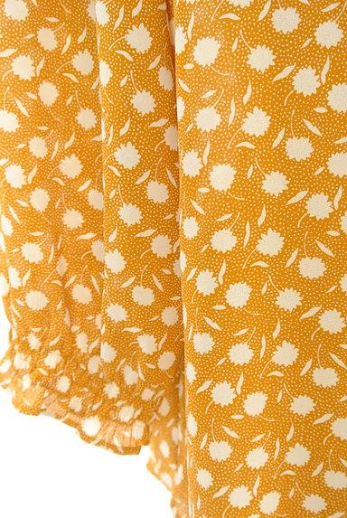 McGREGOR(マックレガー)の古着「花柄×ドットシフォンカットソー(ブラウス)」大画像5へ