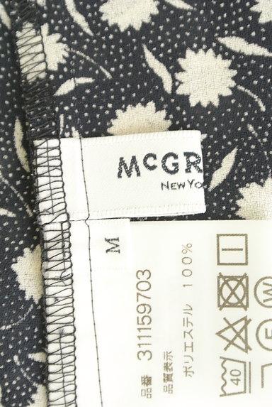 McGREGOR(マックレガー)の古着「花柄×ドットシフォンカットソー(ブラウス)」大画像6へ