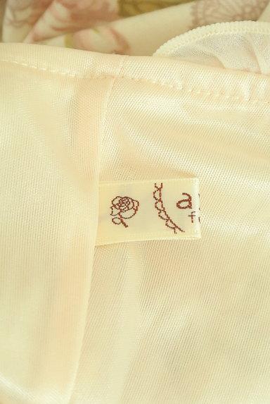 axes femme(アクシーズファム)の古着「膝丈花柄レースアップキャミワンピース(キャミワンピース)」大画像6へ