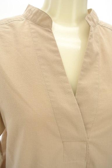nano・universe(ナノユニバース)の古着「Vネックバンドカラーシャツ(ブラウス)」大画像4へ