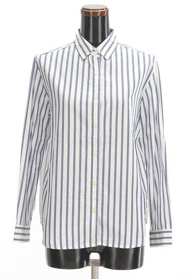 URBAN RESEARCH(アーバンリサーチ)の古着「ストライプ柄2WAYシャツ(カジュアルシャツ)」大画像1へ