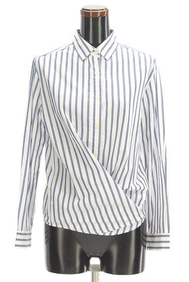 URBAN RESEARCH(アーバンリサーチ)の古着「ストライプ柄2WAYシャツ(カジュアルシャツ)」大画像4へ