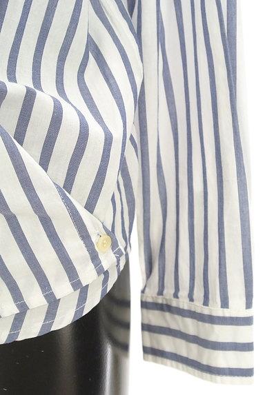 URBAN RESEARCH(アーバンリサーチ)の古着「ストライプ柄2WAYシャツ(カジュアルシャツ)」大画像5へ