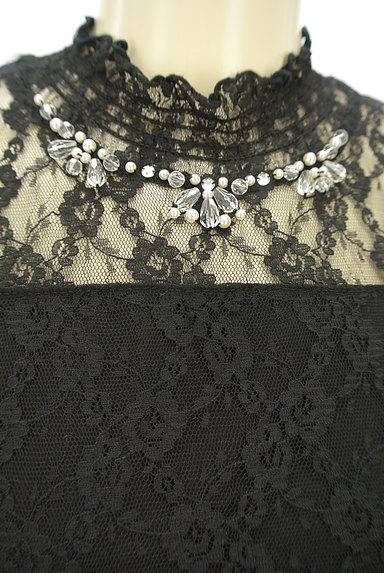 axes femme(アクシーズファム)の古着「装飾総レースカットソー(カットソー・プルオーバー)」大画像4へ