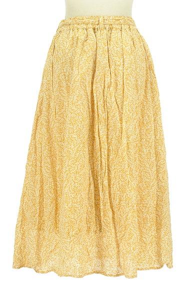 SM2(サマンサモスモス)の古着「ウエストリボン小花柄フレアスカート(ロングスカート・マキシスカート)」大画像2へ