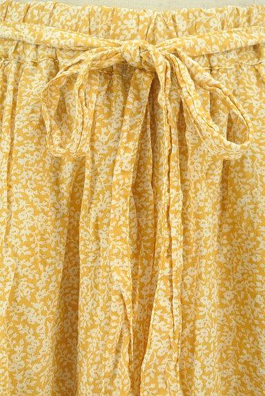 SM2(サマンサモスモス)の古着「ウエストリボン小花柄フレアスカート(ロングスカート・マキシスカート)」大画像4へ