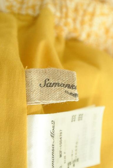SM2(サマンサモスモス)の古着「ウエストリボン小花柄フレアスカート(ロングスカート・マキシスカート)」大画像6へ