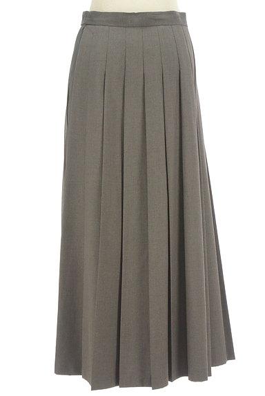 LOUNIE(ルーニィ)の古着「サイドシフォンプリーツアシメロングスカート(ロングスカート・マキシスカート)」大画像2へ
