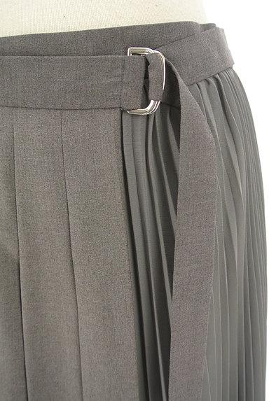 LOUNIE(ルーニィ)の古着「サイドシフォンプリーツアシメロングスカート(ロングスカート・マキシスカート)」大画像4へ
