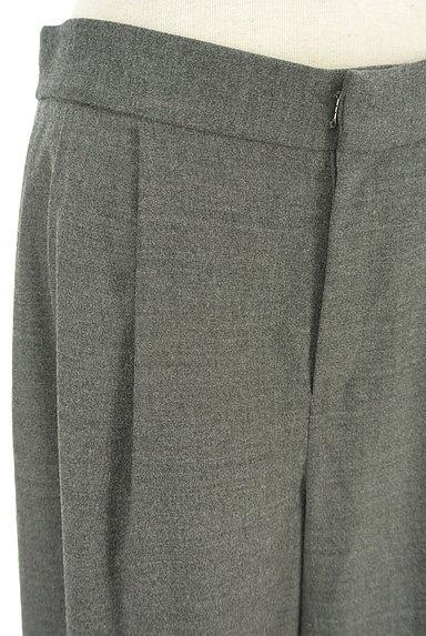 LOUNIE(ルーニィ)の古着「ウールタックワイドパンツ(パンツ)」大画像4へ