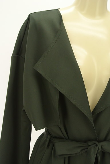 Ketty Cherie(ケティ シェリー)の古着「とろみロングトレンチコート(トレンチコート)」大画像4へ