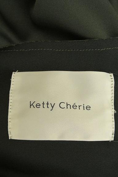 Ketty Cherie(ケティ シェリー)の古着「とろみロングトレンチコート(トレンチコート)」大画像6へ