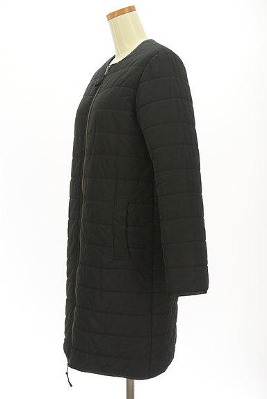 MAYSON GREY(メイソングレイ)の古着「ノーカラー中綿ロングコート(コート)」大画像3へ