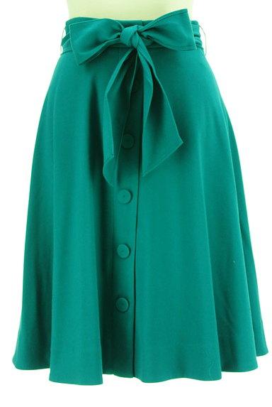 PROPORTION BODY DRESSING(プロポーションボディ ドレッシング)の古着「フロントボタンカラースカート(スカート)」大画像1へ