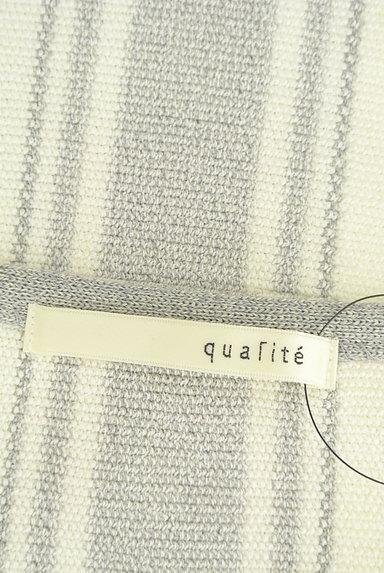 qualite(カリテ)の古着「サイドレースアップサマーニット(ニット)」大画像6へ