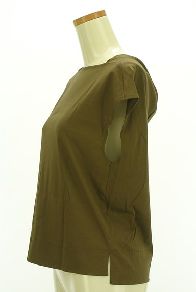 qualite(カリテ)の古着「後ろドレープスクエアカットソー(カットソー・プルオーバー)」大画像3へ