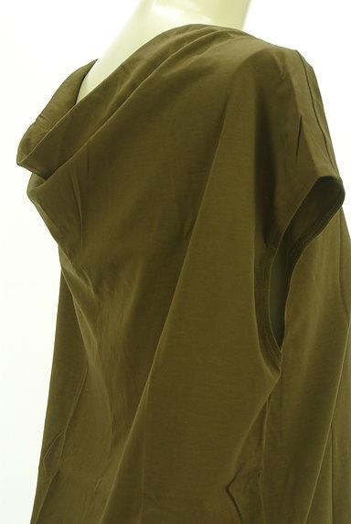 qualite(カリテ)の古着「後ろドレープスクエアカットソー(カットソー・プルオーバー)」大画像4へ