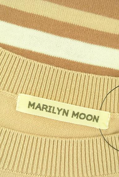 MARILYN MOON(マリリンムーン)の古着「ワントーンボーダーニット(ニット)」大画像6へ
