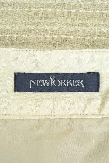 NEW YORKER(ニューヨーカー)の古着「大人のツイードセミタイトスカート(スカート)」大画像6へ