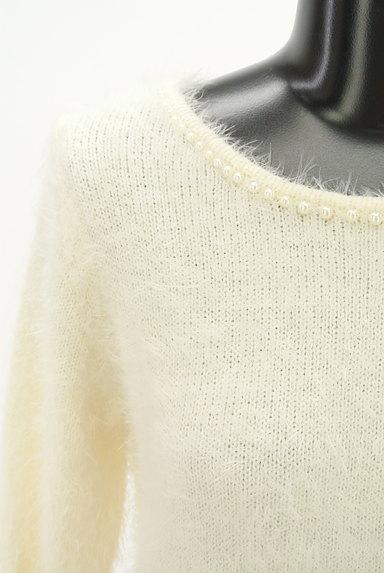 LODISPOTTO(ロディスポット)の古着「パールとリボンのふわふわニット(ニット)」大画像4へ