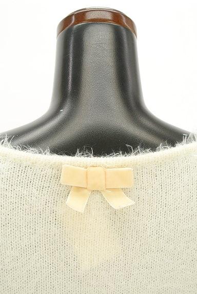 LODISPOTTO(ロディスポット)の古着「パールとリボンのふわふわニット(ニット)」大画像5へ