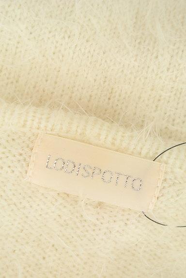 LODISPOTTO(ロディスポット)の古着「パールとリボンのふわふわニット(ニット)」大画像6へ