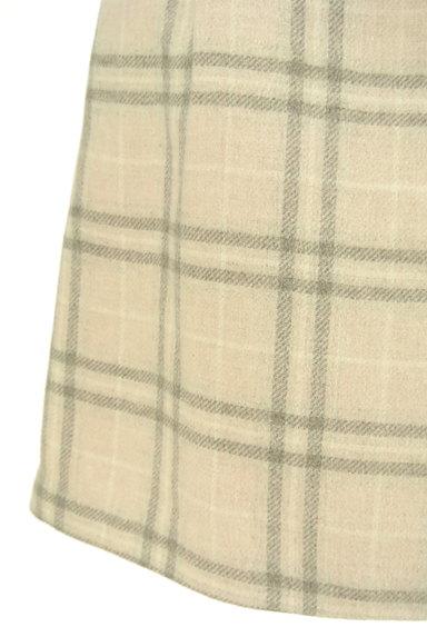 LODISPOTTO(ロディスポット)の古着「チェック柄ラップ風ミニスカ(ミニスカート)」大画像4へ
