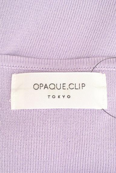 OPAQUE.CLIP(オペークドットクリップ)の古着「ボートネック5分袖カラーニット(ニット)」大画像6へ