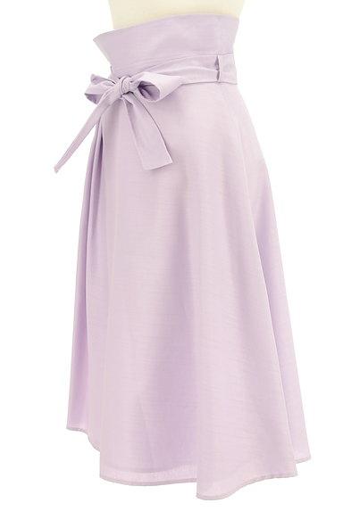 Feroux(フェルゥ)の古着「ハイウエスト変形タックスカート(ロングスカート・マキシスカート)」大画像3へ