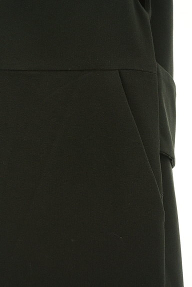 nano・universe(ナノユニバース)の古着「ミモレ丈ジャンパースカート(オーバーオール・サロペット)」大画像4へ