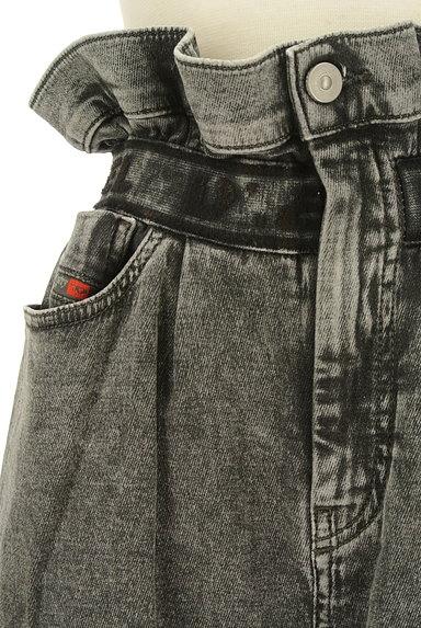 DIESEL(ディーゼル)の古着「ハイウエストテーパードデニム(デニムパンツ)」大画像4へ