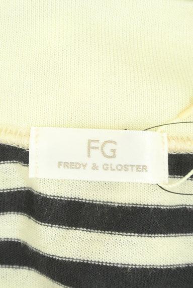 FREDY&GLOSTER(フレディ&グロスター)の古着「モックネックボーダーショートニット(ニット)」大画像6へ