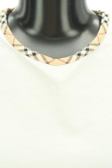 BURBERRY(バーバリー)の古着「チェック切替カットソー(カットソー・プルオーバー)」大画像4へ