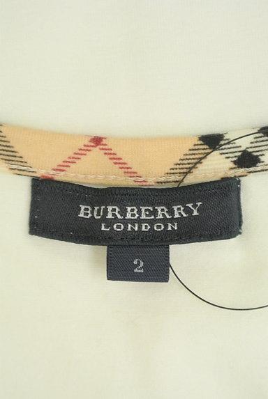 BURBERRY(バーバリー)の古着「チェック切替カットソー(カットソー・プルオーバー)」大画像6へ