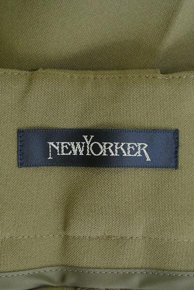 NEW YORKER(ニューヨーカー)の古着「センタープレスワイドパンツ(パンツ)」大画像6へ