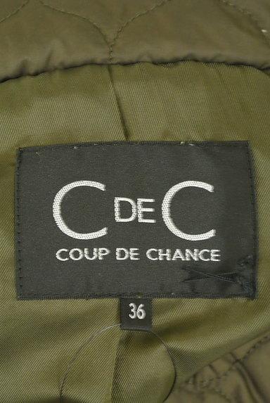 COUP DE CHANCE(クードシャンス)の古着「中綿ショートキルティングブルゾン(ブルゾン・スタジャン)」大画像6へ