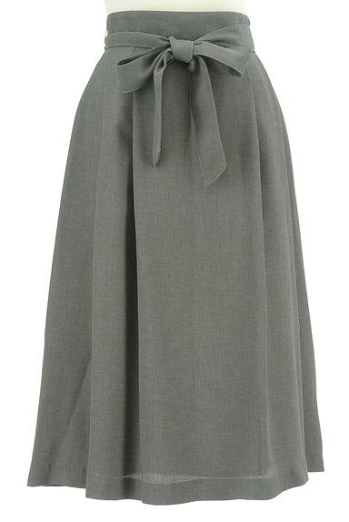 KarL Park Lane(カールパークレーン)の古着「ハイウエストリボンスカート(ロングスカート・マキシスカート)」大画像1へ
