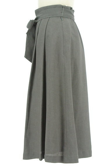 KarL Park Lane(カールパークレーン)の古着「ハイウエストリボンスカート(ロングスカート・マキシスカート)」大画像3へ