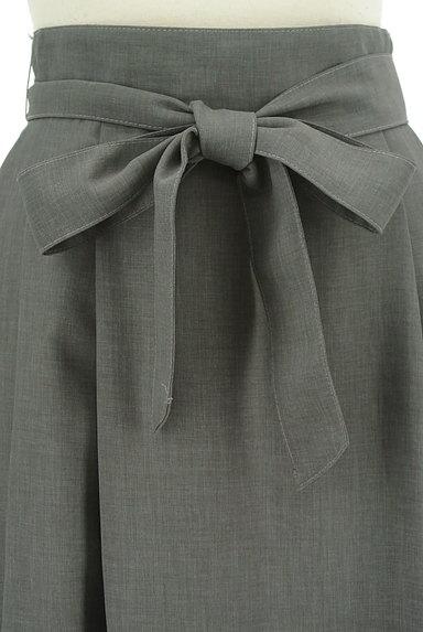 KarL Park Lane(カールパークレーン)の古着「ハイウエストリボンスカート(ロングスカート・マキシスカート)」大画像4へ