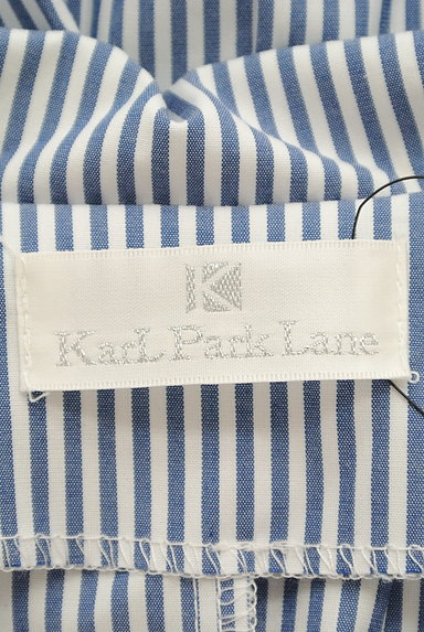 KarL Park Lane(カールパークレーン)の古着「リボン袖のストライプシャツ(カジュアルシャツ)」大画像6へ