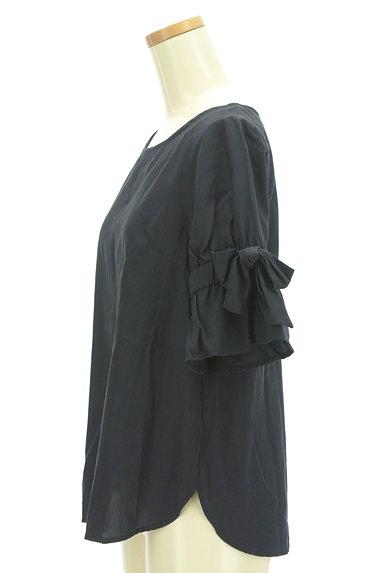 KarL Park Lane(カールパークレーン)の古着「切替リボン袖カットソー(カットソー・プルオーバー)」大画像3へ