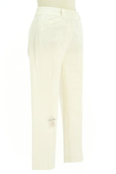 KarL Park Lane(カールパークレーン)の古着「涼し気なホワイトクロップドパンツ(パンツ)」大画像4へ