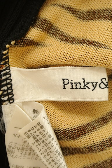 Pinky&Dianne(ピンキー&ダイアン)の古着「ゼブラ柄切替タートルネックニット(ニット)」大画像6へ