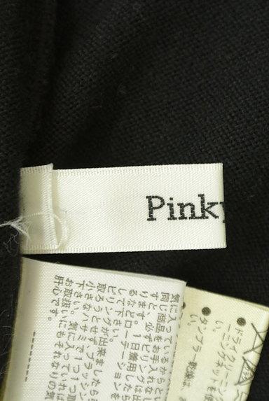 Pinky&Dianne(ピンキー&ダイアン)の古着「千鳥バイカラーニットワンピース(ワンピース・チュニック)」大画像6へ