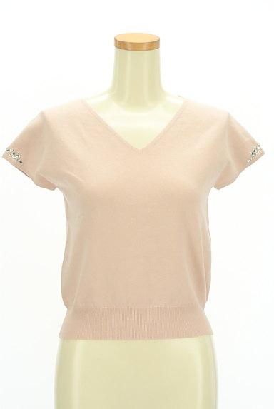 LAISSE PASSE(レッセパッセ)の古着「袖ビジューフレンチニット(ニット)」大画像1へ