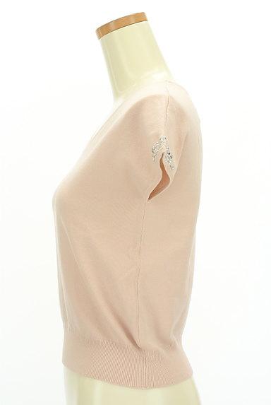 LAISSE PASSE(レッセパッセ)の古着「袖ビジューフレンチニット(ニット)」大画像3へ
