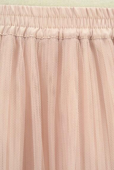 LAISSE PASSE(レッセパッセ)の古着「プリーツチュールロングスカート(ロングスカート・マキシスカート)」大画像4へ