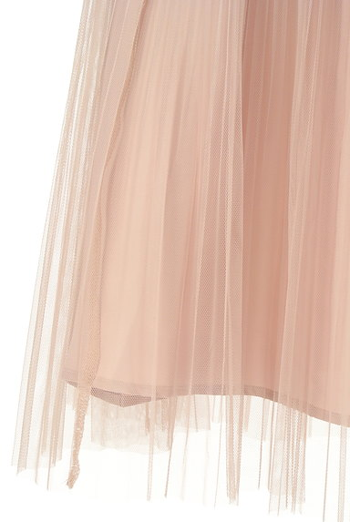 LAISSE PASSE(レッセパッセ)の古着「プリーツチュールロングスカート(ロングスカート・マキシスカート)」大画像5へ