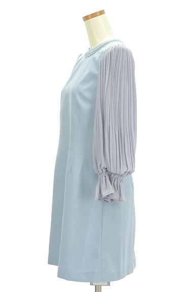 Rirandture(リランドチュール)の古着「プリーツシフォン袖ワンピース(ワンピース・チュニック)」大画像3へ