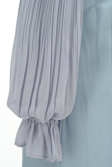 Rirandture(リランドチュール)の古着「プリーツシフォン袖ワンピース(ワンピース・チュニック)」大画像5へ
